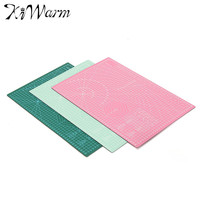 KiWarm New A3 PVC Rectangle Grid Lines Self Healing Cutting Mat Tool Fabric Leather Paper Craft