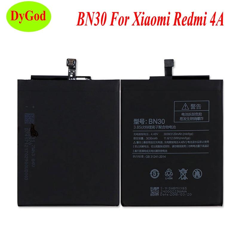 For Xiaomi Redmi 4A Battery BN30 3120mAh Redrice 4A Hongmi 4A Bateria Accumulator