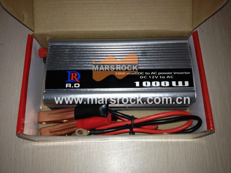 1000 W 12 V à 220 V onduleur à onde sinusoïdale modifiée, avec 5 V DC USB