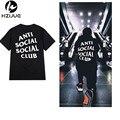 2017 Summer ANTI SOCIAL CLUB de la Camiseta Para Hombre de Hip Hop Algodón de manga corta T-Shirt de algodón Streetwear KANYE camisetas top 8 color S-XXXL