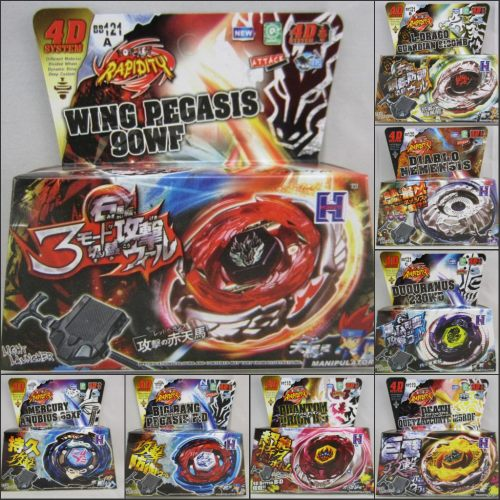 Pcs Sample Retail Beyblade Metal Fusion D Set Bb Bb Bb