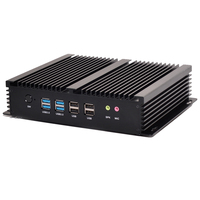 Qotom Industrial Pc T4200P With Serial Port Display Port Dual Ethernet 8GB RAM 128GB SSD CPU