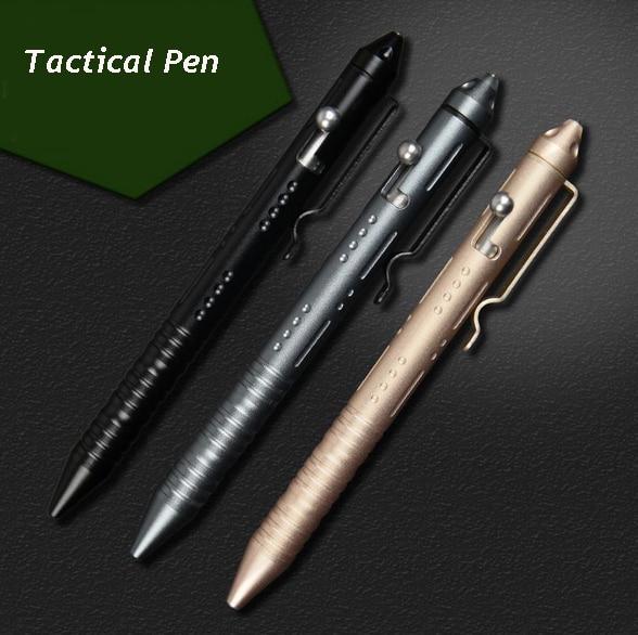 Newest EDC Survival Tactical Pen Self Defense Glass Breaker Portable Travel kit Hot