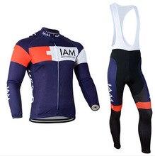 2017 Darmowa wysyłka Mężczyźni Z Długim Rękawem Jesień Jazda Na Rowerze Jersey Oddychająca Odzież Rowerowa Szybkoschnący Ropa Ciclismo Mountain Bike Wear