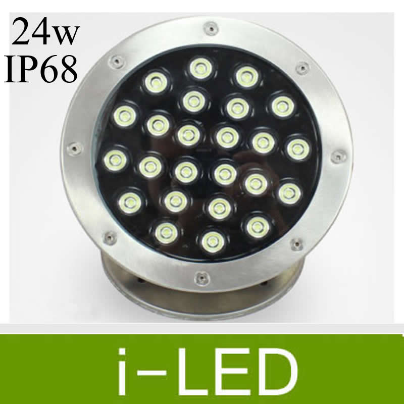 Led Lamps New Arrival 24w Rgb Led Underwater Light Ip68 Ac/dc24v 2400lm With Remote Controller Lights & Lighting
