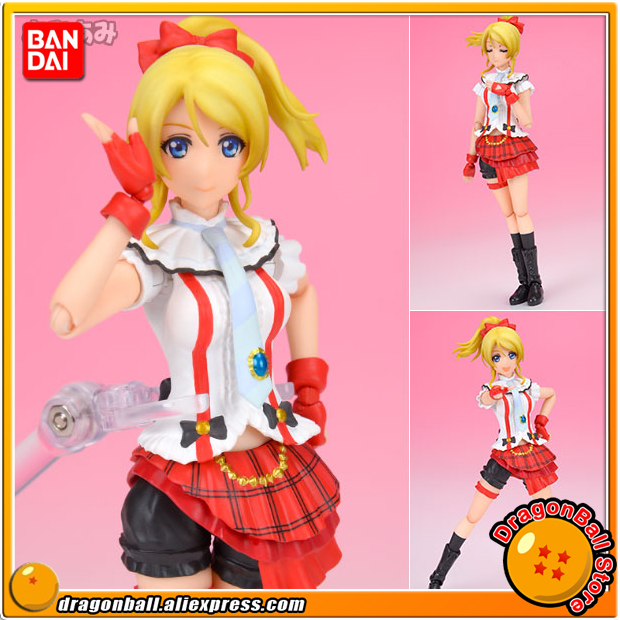 Anime Love Live! Original BANDAI Tamashii Nations S.H.Figuarts / SHF Action Figure - Eli Ayase (Bokura ha Ima no Naka de) free ship new fashion love live ayase eli yellow girl s cosplay party wig with ponytail