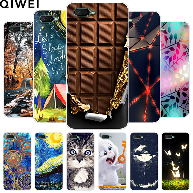 for OPPO RX17 Neo Case RX17Neo Covers Soft TPU Silicone Back Cover for OPPO RX 17 Neo 6.4 inch Phone Cases Coque Capas CPH183