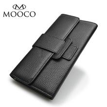 Hohe Qualität Brieftasche Frauen Lange Design Dame Haspe Kupplung Brieftasche Aus Echtem Leder Weibliche Kartenhalter Geldbörsen Geldbörse