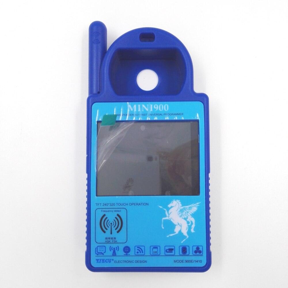 Latest Smart MINI ND900 Trasponder Key Programmer for 4C 4D ID46 72G Chip Copy Machine Update