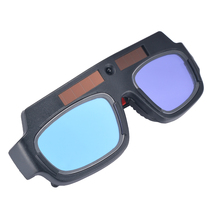 New 1pc Solar Powered Auto Darkening Welding Mask Helmet Goggle Welder Glasses Arc PC Lens Goggles For Eye Protection