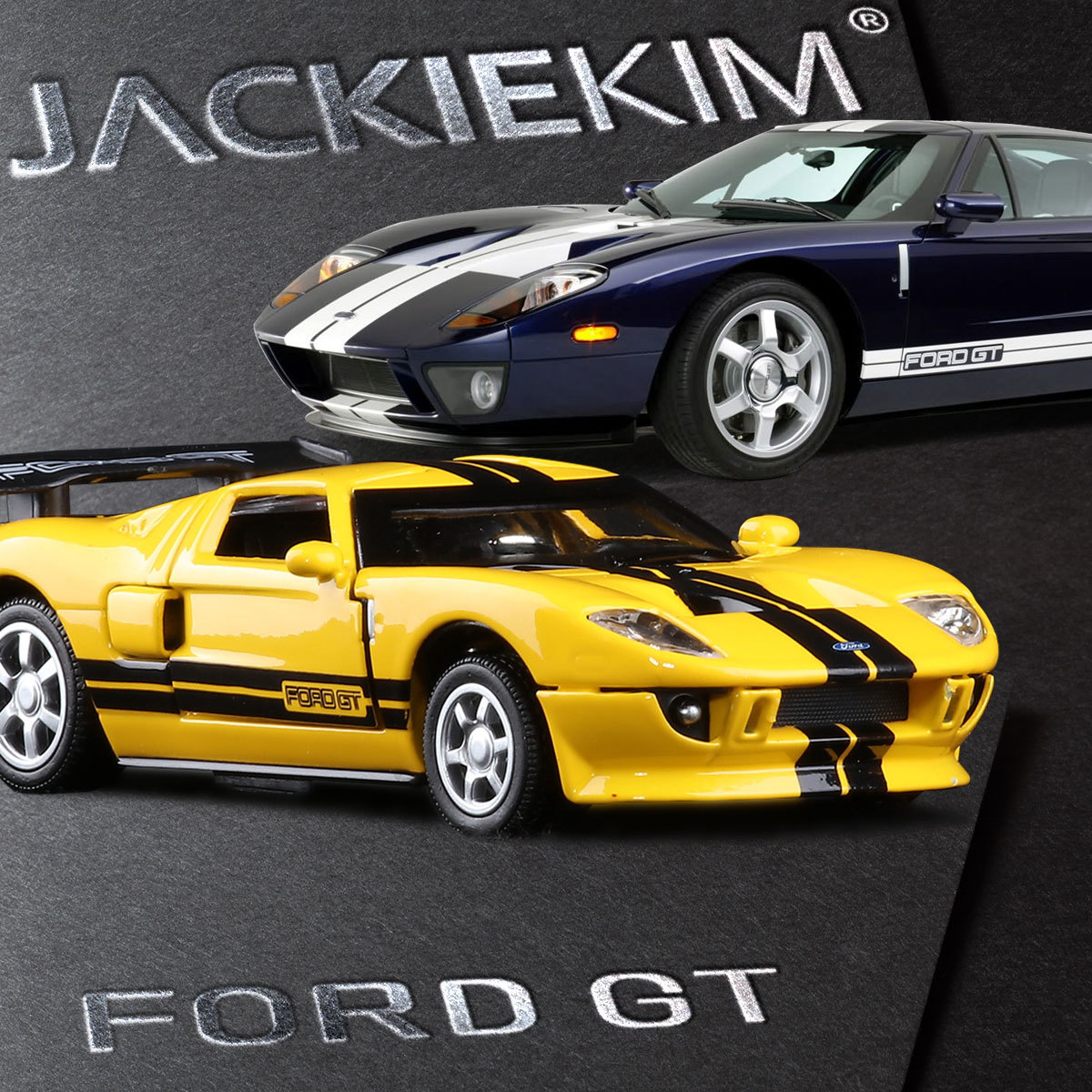 Ford Sports Car Models: High Quality Sports Car Racing High Simulation 1:32 Scale