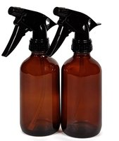 8oz Amber Cobalt Blue Glass Spray Bottle With Trigger Sprayer Perfect For Essential Oil Blends 2