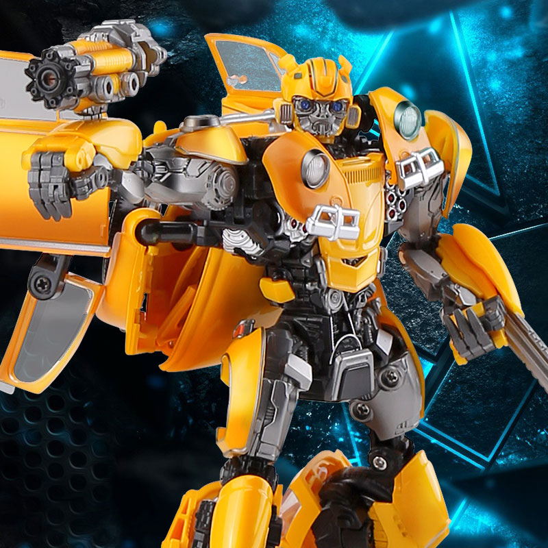 Image 4 - BMB Transformation LS 07 LS07 Bee MPM07 MPM 07 Alloy Metal Movie Film voyager Edition Action Figure Robot Toys Kids GiftsAction & Toy Figures   -