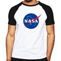Хлопок НАСА Мода мужская Футболка Новый Летний Стиль дизайна Печатных Мужчины Майка Повседневная Фитнес Clothing Топы Тройники для мужчины