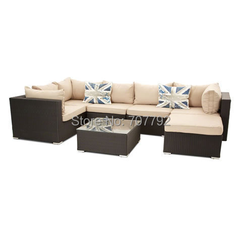 London Rattan 5 Seater Corner Sofa Group In Garden Sofas From Furniture On Aliexpress Alibaba