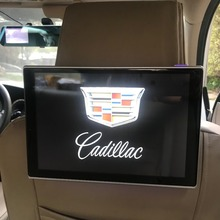 Car Display Rear Seat Entertainment Android 7.1 System Headrest DVD Screen For Cadillac All Models TV Monitor 11.8 inch IPS Full car headrest video player android tv in the car dvd monitor for cadillac android rear seat entertainment system 11 8 inch screen