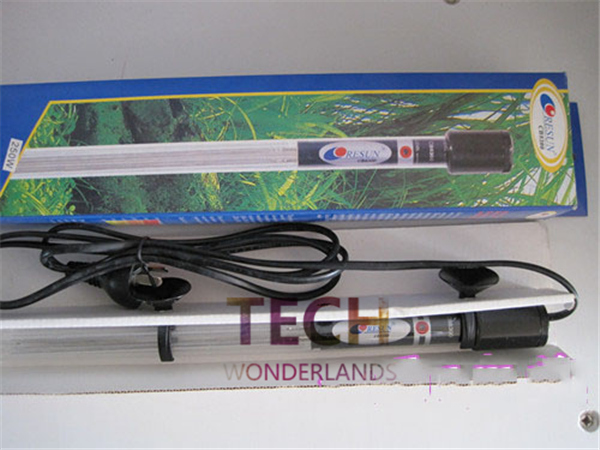 Submersible heater heating rod for aquarium glass fish for Cat proof fish tank