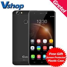 Оригинал Гретель A6 4 Г Мобильные Телефоны Android 6.0 2 ГБ RAM 16 ГБ ROM Quad Core Смартфон 13.0MP Камера Dual SIM 5.5 дюймов Сотовый телефон