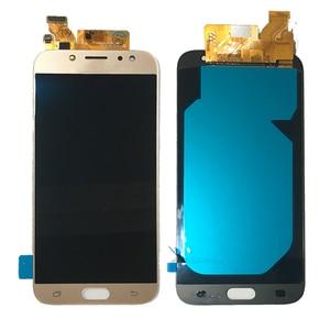 Image 4 - 5.5 AMOLED Samsung Galaxy J7 2017 ekran J730 J730F J730M J730Y LCD ekran + dokunmatik ekran digitizer cam Panel J730 LCD