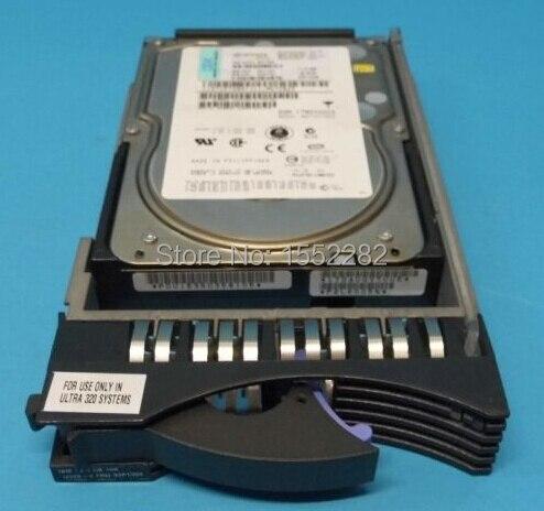 Жесткий Диск Для 3275 73.4 Г 10 К SCSI U320 90P1305 90P1309 26K5152 Оригинальный 95% Новый Хорошо Испытанная деятельность один год гарантии
