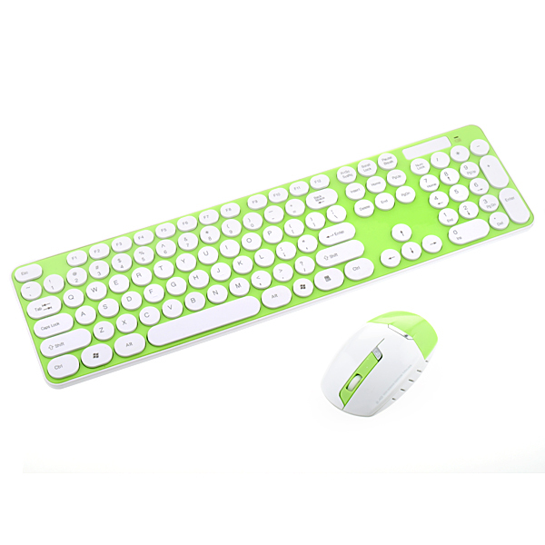 0ab1b47cae1 Ultrathin 2.4GHz Black/Blue/Pink/Blue Wireless Keyboard and Mouse Combos For  Desktop Laptop Computer Free Shipping-in Keyboard Mouse Combos from  Computer ...