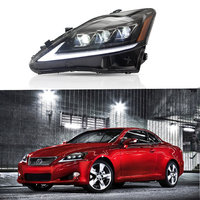 VLAND Car lamp for Lexus IS 250 IS300 Head Lamp 2006 2007 2008 2009 2010 2012 For Lexus is 250 IS300 Full LED Head light