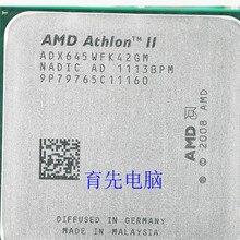 Четырехъядерный процессор AMD Athlon X4 645, разбросанный процессор fm1 3,0G L2 2 M, четырехъядерный процессор(работает