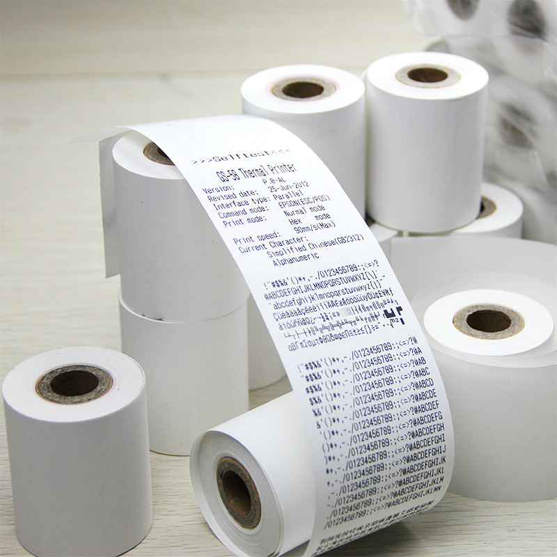 57X50mm supermarket  thermal printing paper cash register paper POS 58mm (100 rolls)