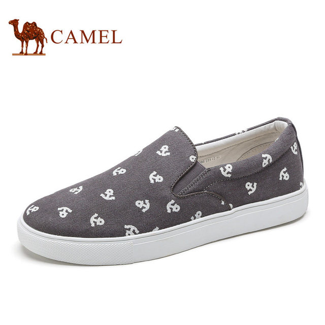 Camel Men's Shoes Casual Flat Canvas Shoes Breathable Comfortable Feet  Antiskid Cushioning Shock absorption A712339090