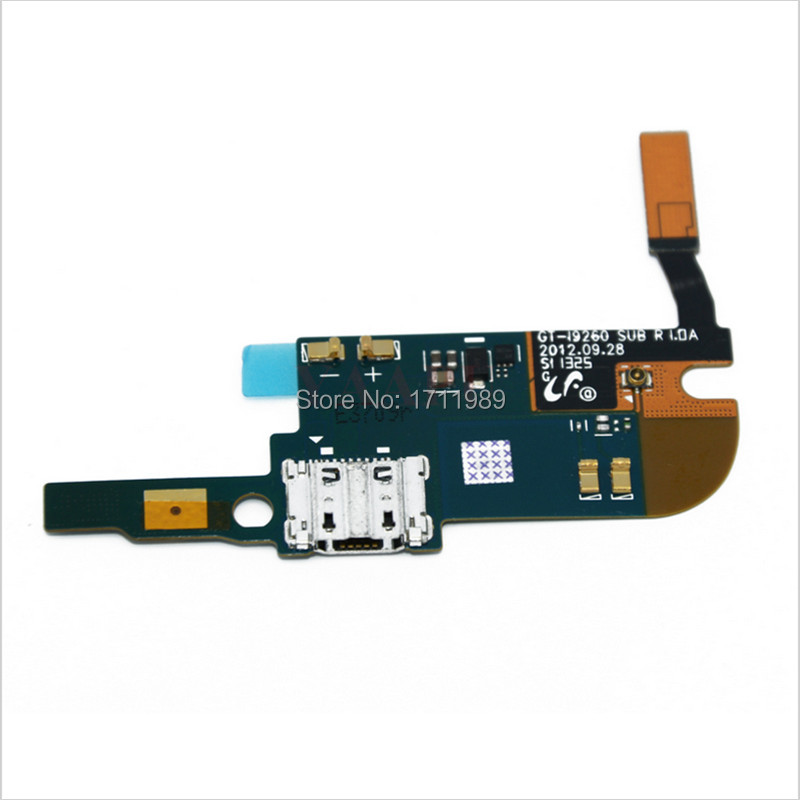 For Samsung Galaxy Premier I9260 I9268 USB Plug Charge Charging Board Dock Connector Flex Cable Charger Replacement Repair Parts