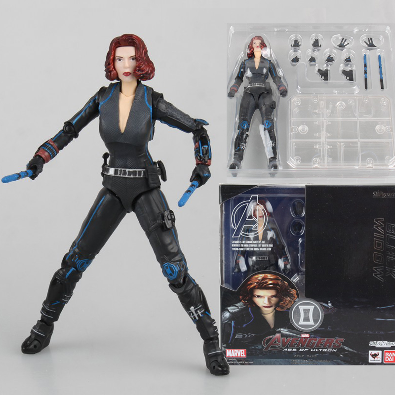 Captain America Civil War Black Widow Action Figure Model Toy Doll Gift uncanny avengers unity volume 3 civil war ii
