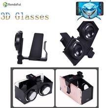 VR Fold V1 Portable Foldable Ultralight 3D VR Virtual Reality Google VR BOX enjoy 3D Movies and Games Glasses Cardboard packing