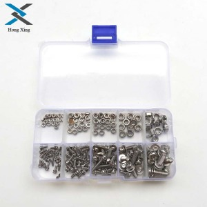 160Pcs/Set Stainless Steel SS3