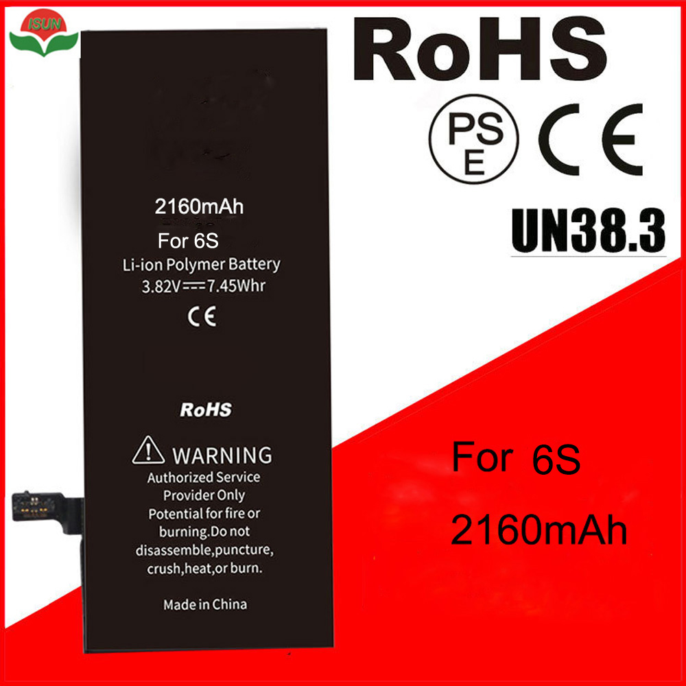 Quality-Battery Battery-Replacement iPhone 6s Original-Quality AAAAA for with Free-Tools