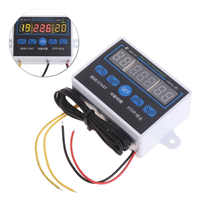 Digital LED Temperature Controller Thermostat Control Switch Sensor 12V/220V Thermoregulator with LCD Display