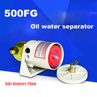 Marine Refit Racor Turbine 500FG Turbocharger Diesel Engine Fuel Water Separator Filter 2010PM TM With Plastic