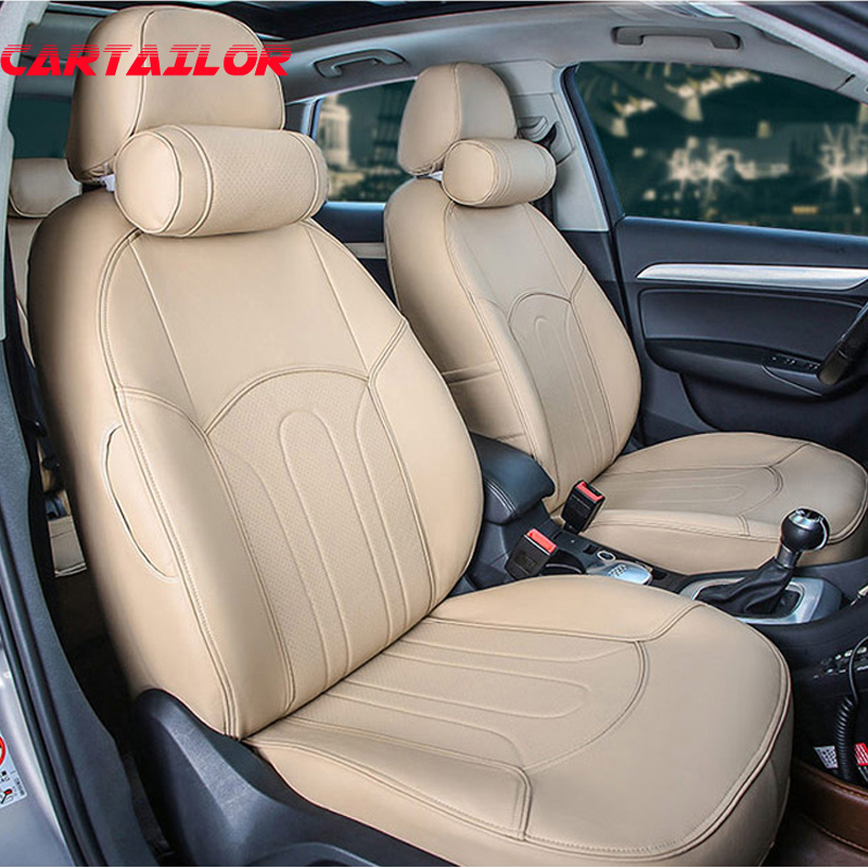Cartailleur personnalisé Fit housses de siège pour 2015 2014 2016 2011 Nissan Qashqai accessoires PU cuir voiture style couvre siège protecteur
