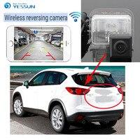 YESSUN для Mazda CX 5 CX 5 CX5 2013 ~ 2015 Резервное копирование Обратный Камера Авто Беспроводной заднего вида Камера Ночное видение