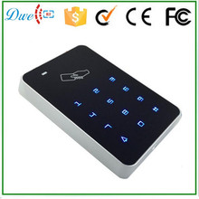 Free shipping DC12V touch screen keypad rfid reader wiegand 26 for access control system