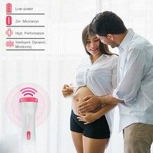 New FHR LCD Digital  Probe Pregnancy Fetus Fetal Doppler Heart Sound Monitor Screen Display Tester Detector Meter Monitors J75