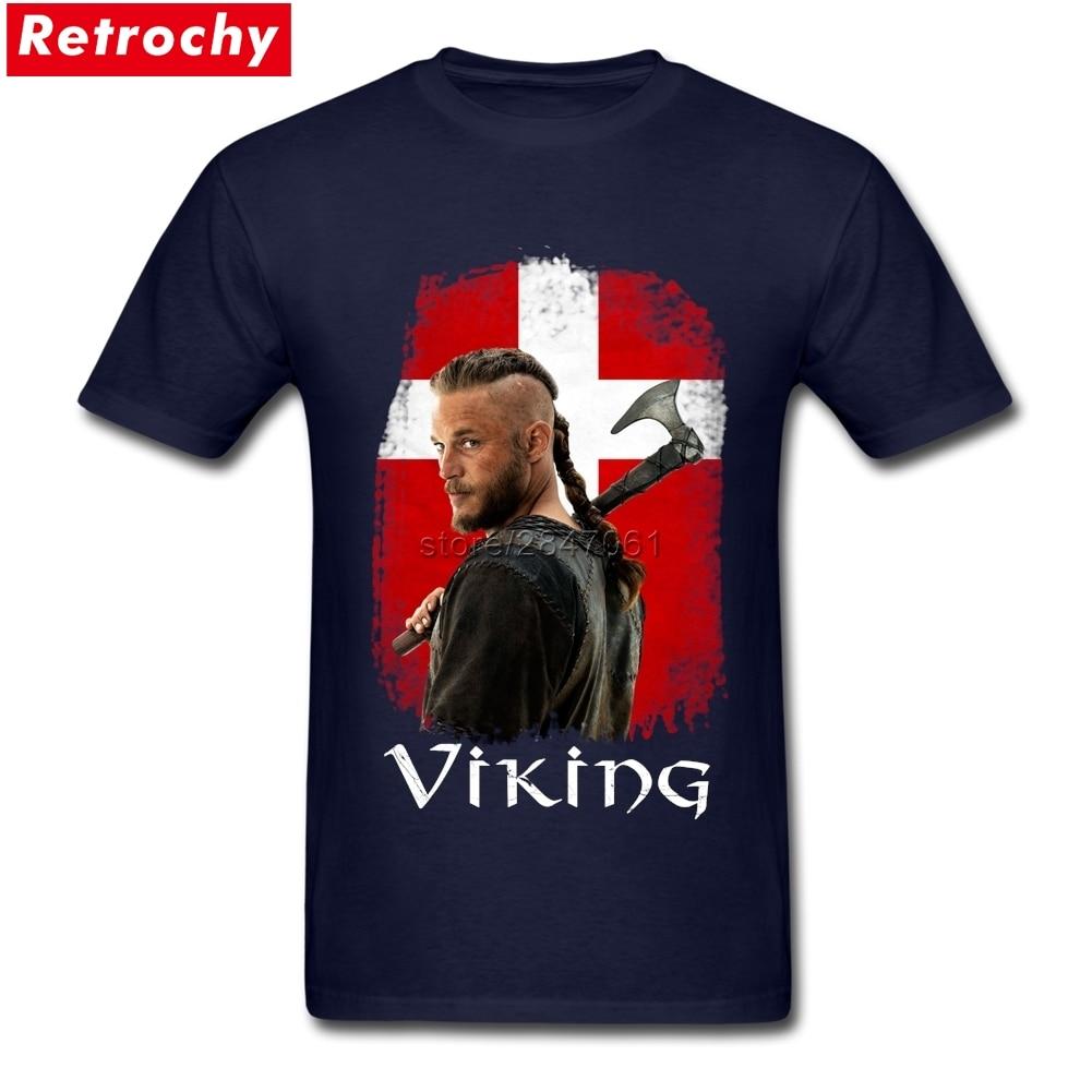 sports shoes 1fbfb 177a0 US $12.54 43% OFF|Brand Viking T Shirt Custom Print Denmark vikings  merchandise T Shirt Boys Company T Shirt Design White Short Sleeve XXXL-in  ...