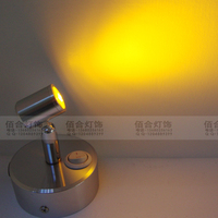 NEW ZZP01 Built In Lithium Battery LED Spotlight Rechargeable Led Their Own Power Setting Wall Light