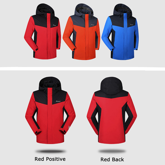 Winter Heated Jackets For Men Women Keep Warm Outdoor Hiking Jackets Windproof Thermal Climbing Skiing Fleece Coat M-4XL 2