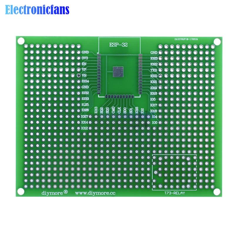 5pcs 7x9cm Pcb Prototyping Printed Circuit Board Prototype Breadboard