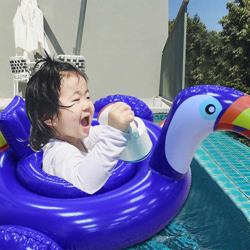 Детский надувной бассейн, плавательный бассейн, безопасное сиденье для воды, пляжные детские игрушки, надувной плавательный круг для детского воздушного матраса, boia