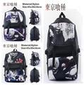 Men Tokyo Ghoul Ken Kaneki Cool Anime Casual Backpack Laptop Shoulders Bag Cosplay