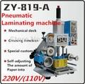 ZY-819-A автомат для штамповки кожаных логотипов  высокоскоростная машина для тиснения именных карточек