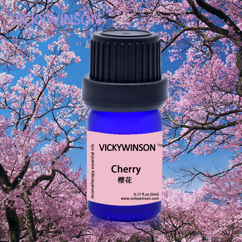 VICKYWINSON Cherry blossoms Essential oil anti aging scar face body ageless nature cosmetic skin care whitening 5ml