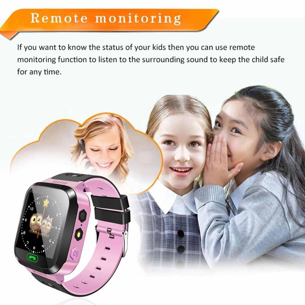Y03 akıllı saat Çocuklar Çok Fonksiyonlu Dijital Kol Saati Çocuklar Için Saat Ile Bebek Saatler Uzaktan SOS Çağrı Kamera Çocuklar Hediye Kutusu