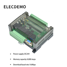 PLC Industrial Control Board FX1N FX2N FX3U-24MR PLC Controller Programmable plc base unit fx3u 32mt ds well tested working three months warranty